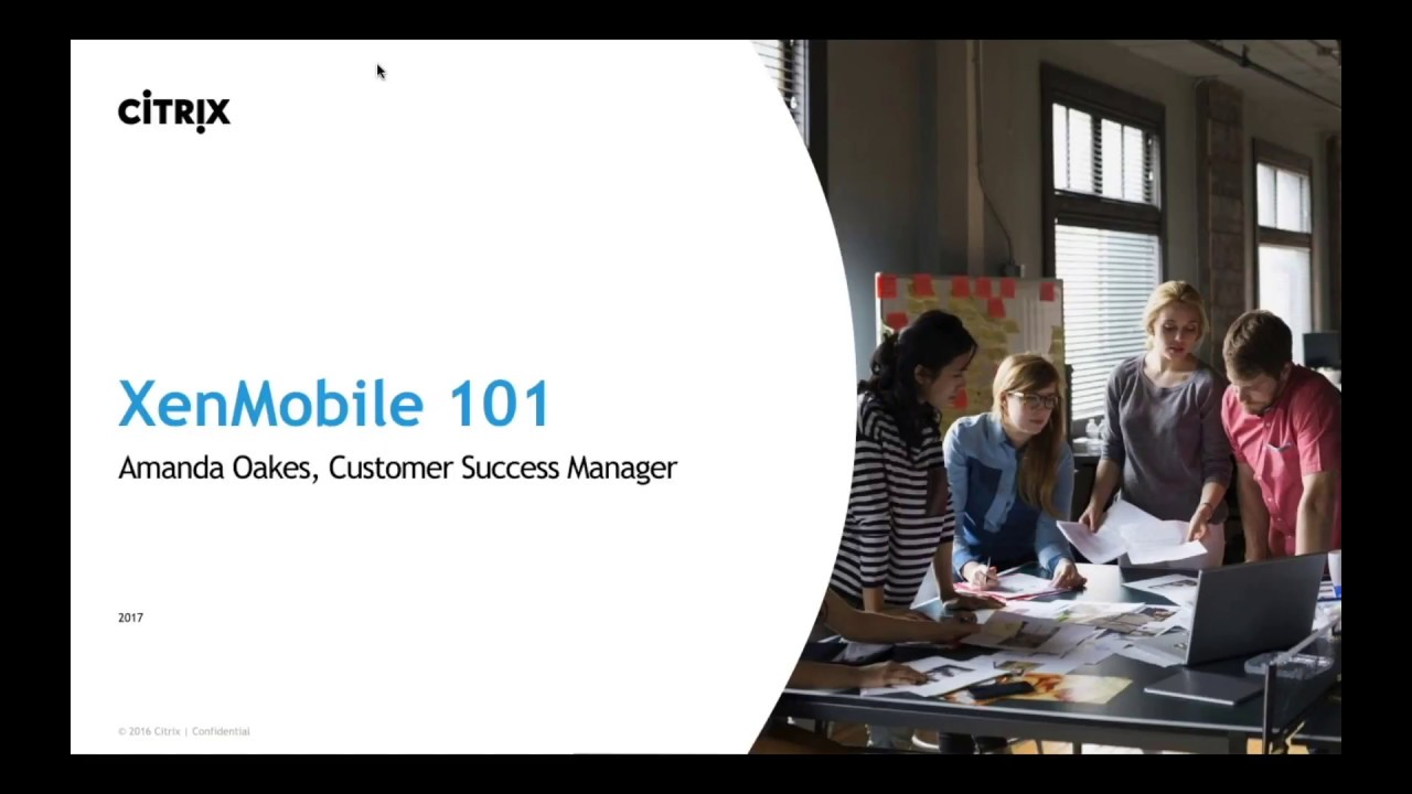 XenMobile 101: Introduction for end users